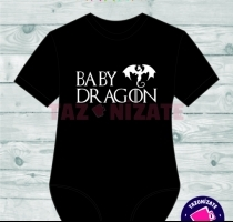 pilucho personalizado game of thrones baby dragon